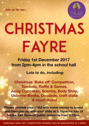 thumbnail of Christmas Fayre Poster