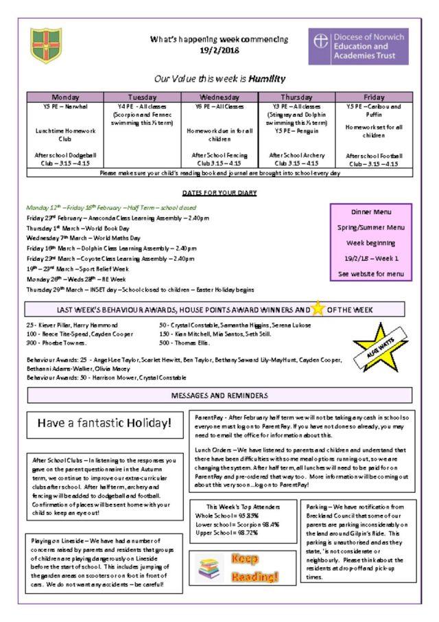 thumbnail of Bulletin – wb 19.2.18