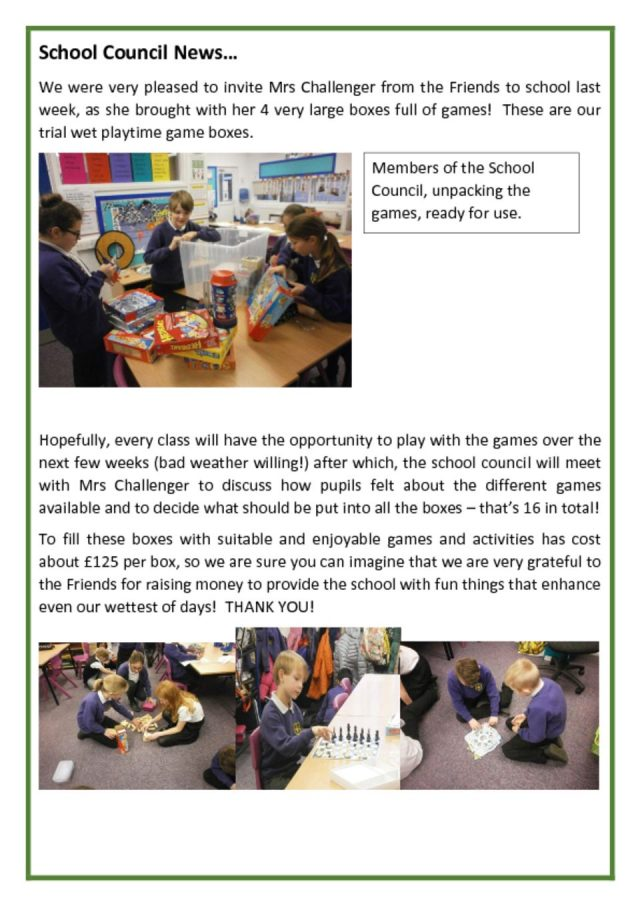 thumbnail of Newsletter re wet playtime games Feb 2018