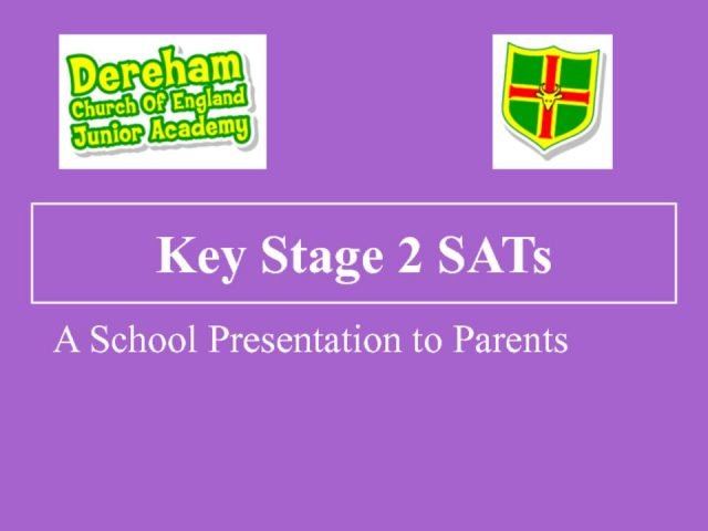 thumbnail of SATs Presentation 2018