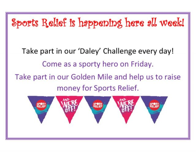 thumbnail of Sports Relief is happening here all week