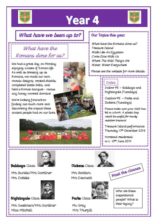 thumbnail of y4 newsletter