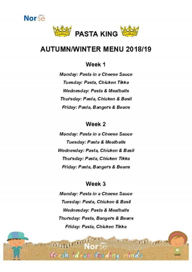 thumbnail of Pasta King Menu – Autumn_Winter 2018_19 – Google Docs