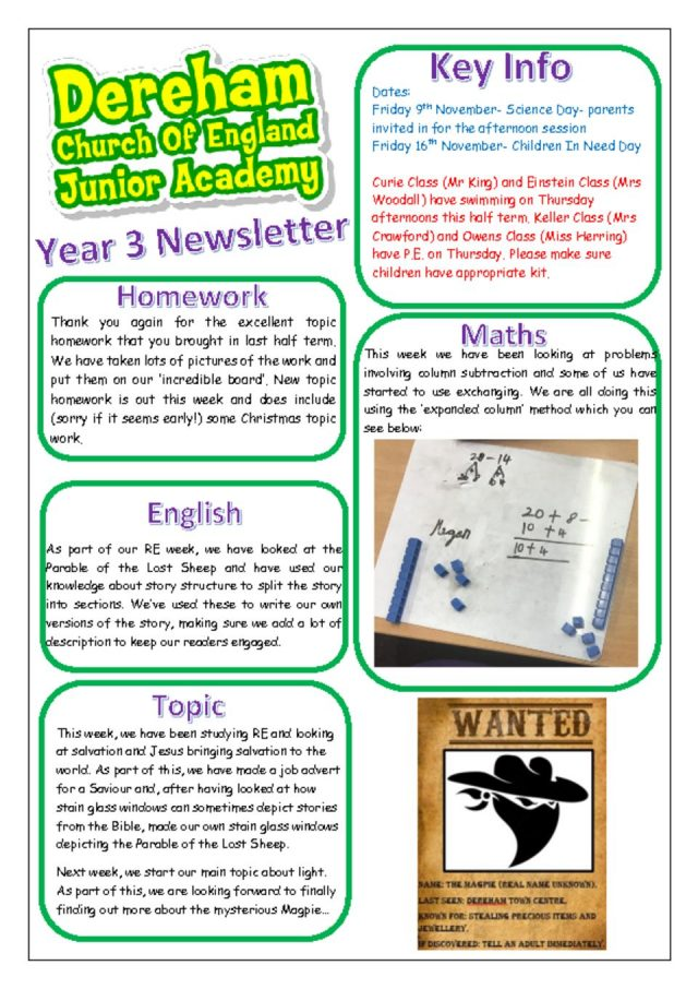 thumbnail of Yr 3 Newsletter Autumn 4