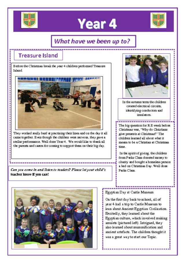 thumbnail of Year 4 Newsletter 07.01.19