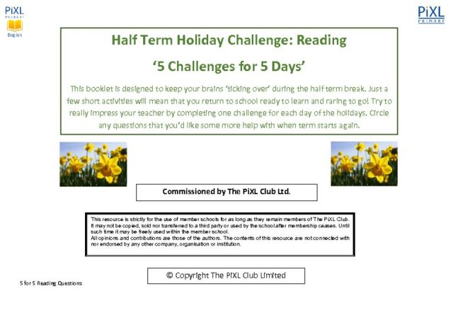 thumbnail of 5 for 5 Holiday Challenge Reading Questions 2
