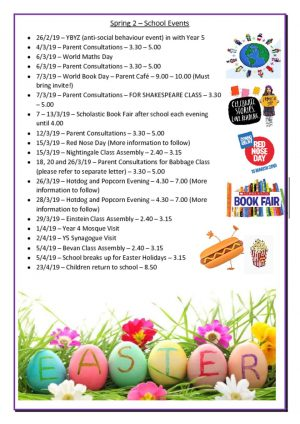 thumbnail of Spring 2 – School Events