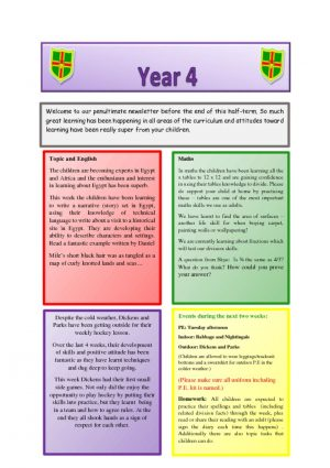 thumbnail of Year 4 Newsletter 04.02.19