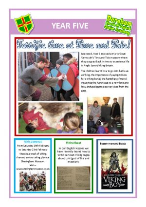 thumbnail of Year 5 Newsletter 04.02.19