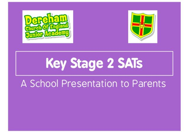 thumbnail of SATs Presentation 2019