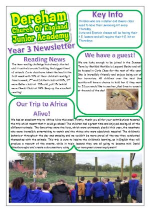 thumbnail of Yr 3 Newsletter 07.05.19