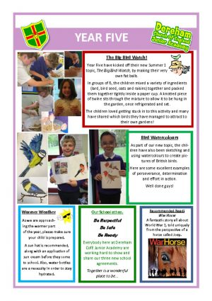 thumbnail of Yr 5 Newsletter 07.05.19