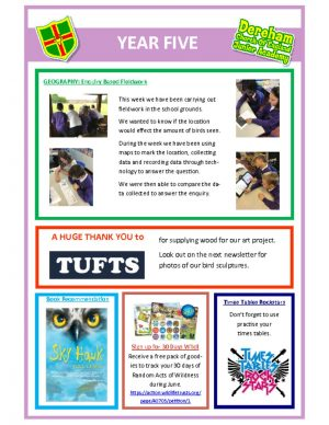 thumbnail of Yr 5 Newsletter