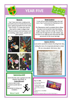 thumbnail of Year 5 Newsletter 24.06.19