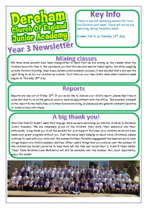 thumbnail of Final summer newsletter Year 3 (1)