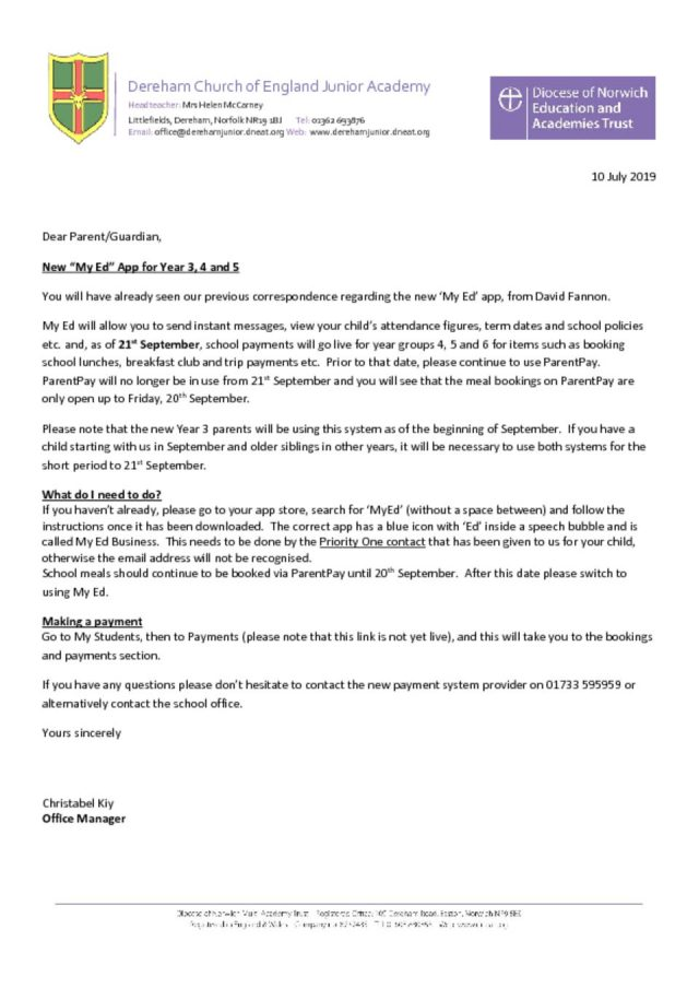 thumbnail of MYED Letter to parents JULY 2019