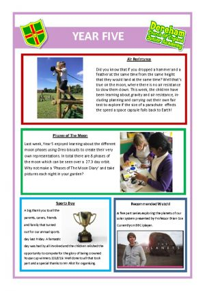 thumbnail of Year 5 Newsletter (1)