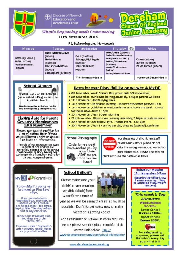 thumbnail of Weekly Bulletin WB 11.11
