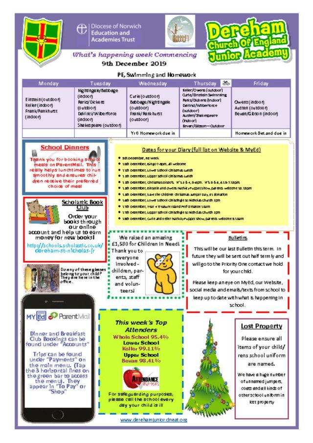 thumbnail of Weekly Bulletin WB 09.12