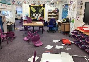 Ransacked-classrooms-after-the-Magpie-visited-Year-3-in-the-night